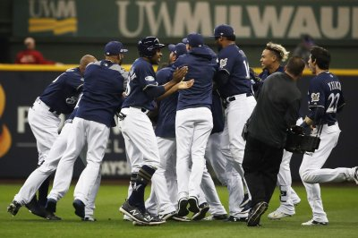 Brewers nearly blow Game 1 of NLDS, but survive in walk-off win over Rockies Brewers nearly blow Game 1 of NLDS but survive in walk off win