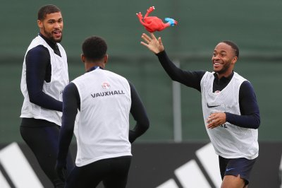 Watch: England uses rubber chicken to train for World Cup match vs. Croatia World Cup England uses rubber chicken in training before semifinals