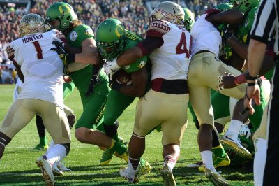 RB Royce Freeman signs rookie deal with Denver Broncos RB Royce Freeman signs rookie deal with Denver Broncos