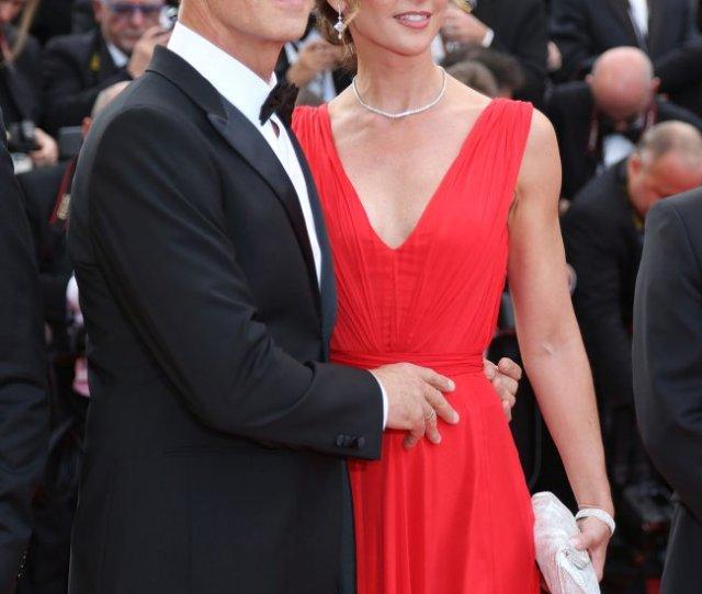 Rocco Siffredi And Rozsa Tassi Attend The Cannes Film Festival