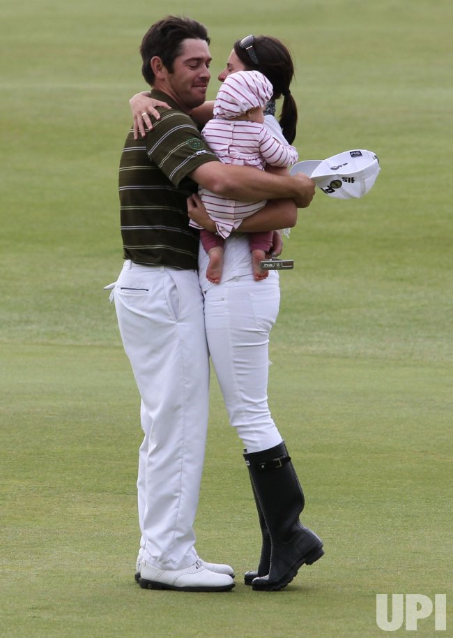 Oosthuizen celebrates winning the 139th Open Championship ...
