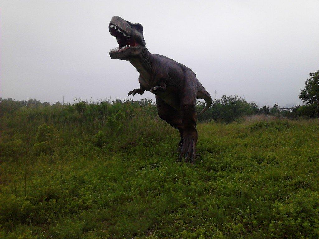 Animatronic Dinosaur New Jersey Park
