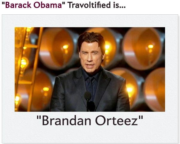 John Travolta S Adele Dazeem Mispronunciation Sets Off Meme Upi Com