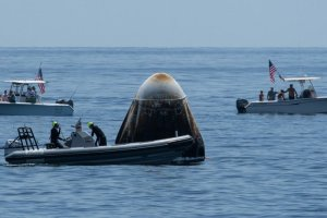 NASA is preparing the Dragon capsule for the first reuse with astronauts