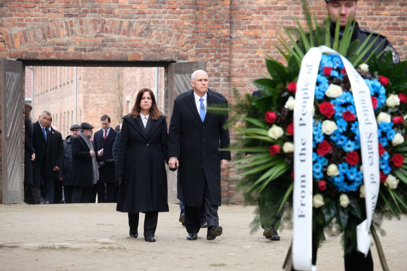 Mike Pence Pays Tribute To Holocaust Victims In Visit To