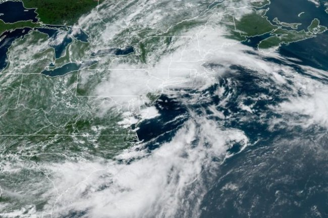 Tropical Storm Henri could make landfall somewhere in New England early next week. Photo courtesy of NOAA