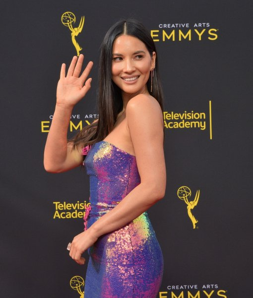Olivia Munn attends the Creative Arts Emmy Awards at the Microsoft Theater in Los Angeles on September 15. The actor turns 40 on July 3. File Photo by Jim Ruymen/UPI