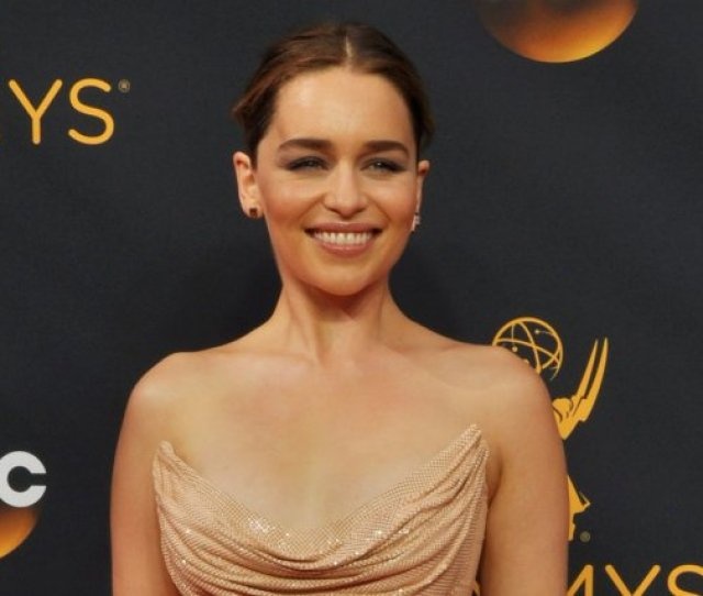 Emilia Clarke Discussed Game Of Thrones Nudity In The December Issue Of Harpers Bazaar File Photo By Christine Chew Upi License Photo