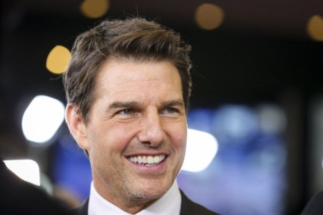 Tom Cruise is partnering with NASA on the first narrative feature film to be shot in space. File Photo by Oliver Contreras/UPI