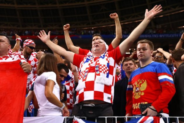 World Cup  French  Croatian fans to play friendly on Moscow s Red     World Cup  French  Croatian fans to play friendly on Moscow s Red Square
