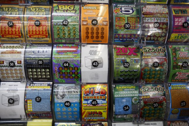 A South Carolina woman who won a $250,000 lottery jackpot credited her fortune to the store being sold out of her favorite scratch-off ticket. File Photo by John Angelillo/UPI