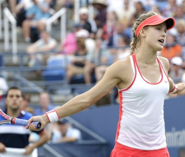 Canadian Eugenie Bouchard Failed To Advance To The Second Round Of The Miami Open On Wednesday Falling To Australian Ashleigh Barty