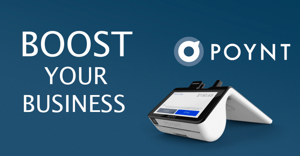 how the poynt smart terminal can boost