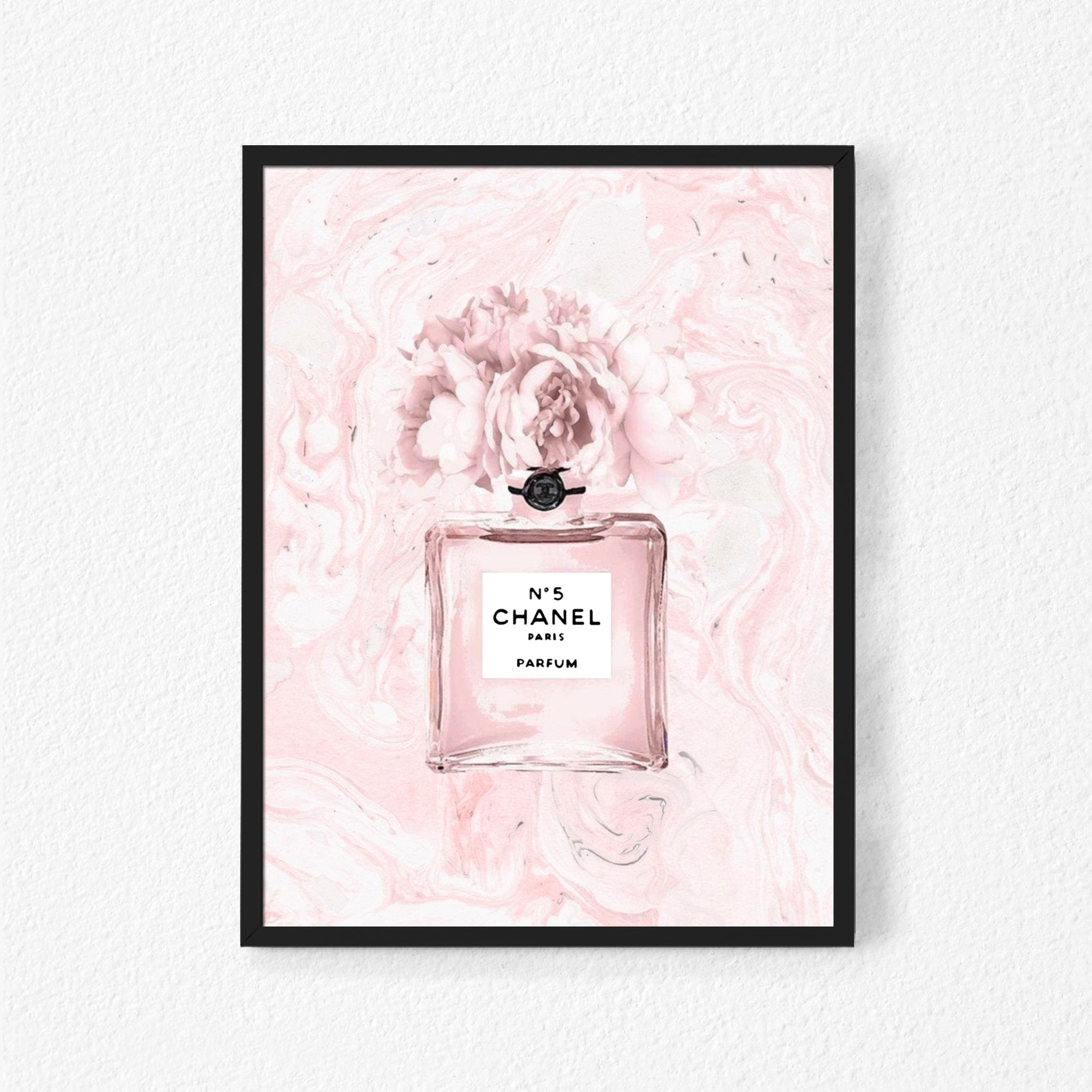 buy boomah accessories coco chanel n5 perfume poster with frame 50x40cm online shop home garden on carrefour uae