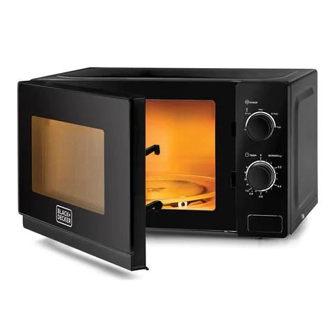 black decker 20l 700w microwave black mz2020p b5 with 1 year warranty