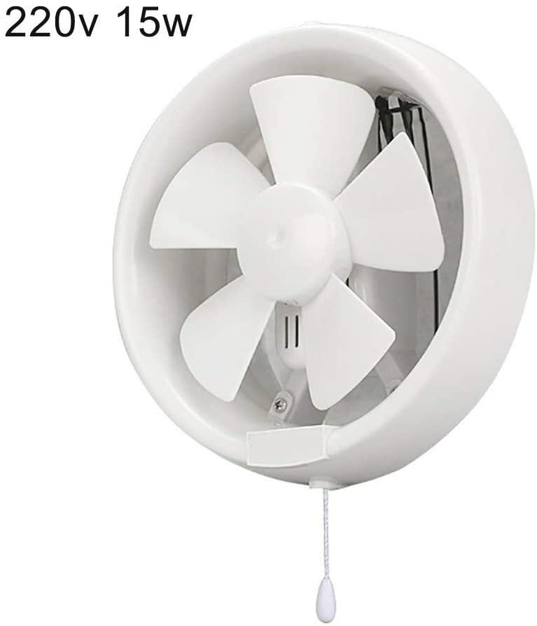 buy 6 8inch 220v ventilator low noise cool round glass window bathroom exhaust fan 8 inches online shop electronics appliances on carrefour uae