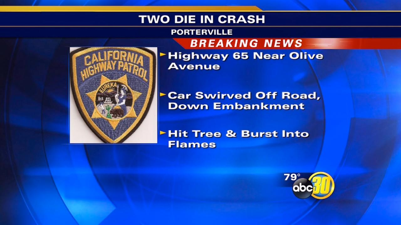 Officers Chp Killed Crash Fresno Were County