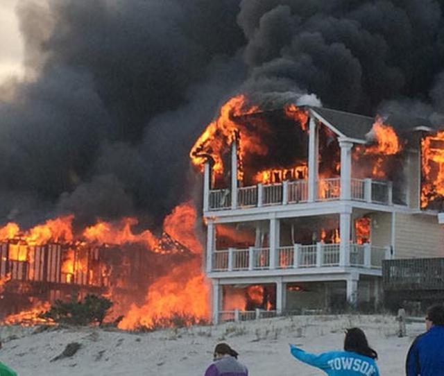 No Cause Yet In 7 Alarm Sea Isle City Fire