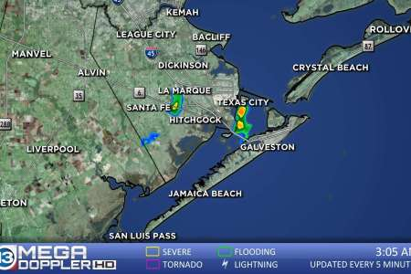 Galveston County Weather Radar Map   abc13 com Galveston County
