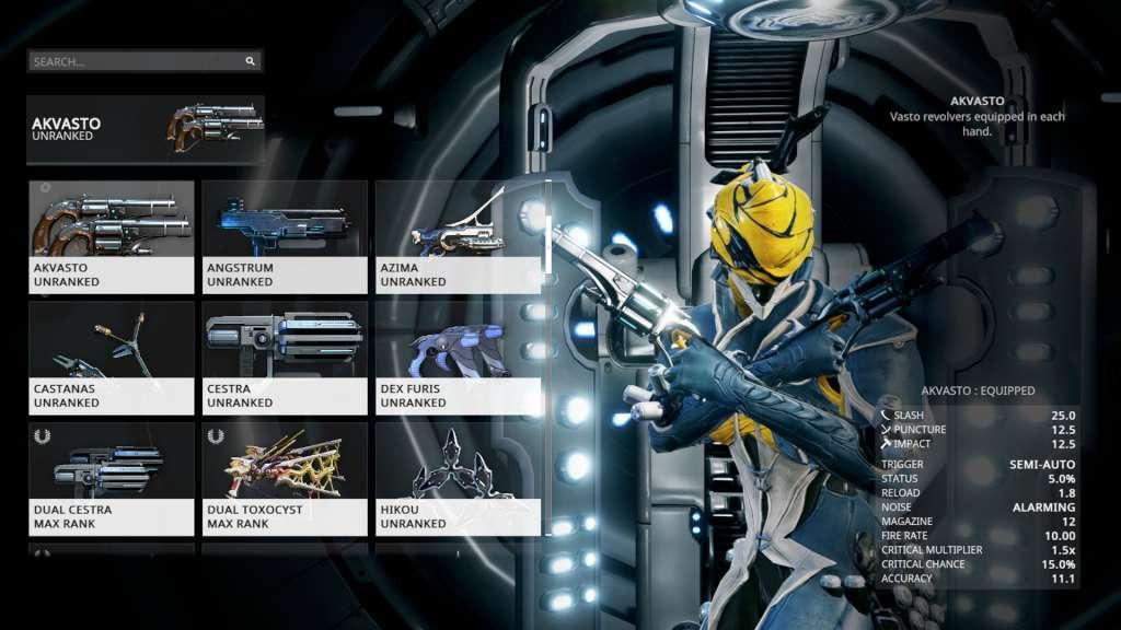 Warframe 1500 Platinum In Game Delivery Bei Kinguin Kaufen