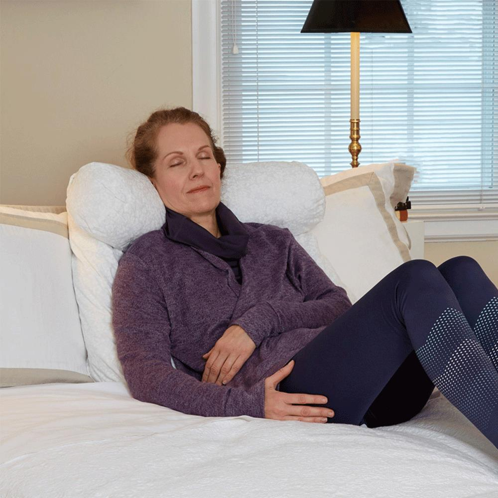 hermell relax in bed pillow