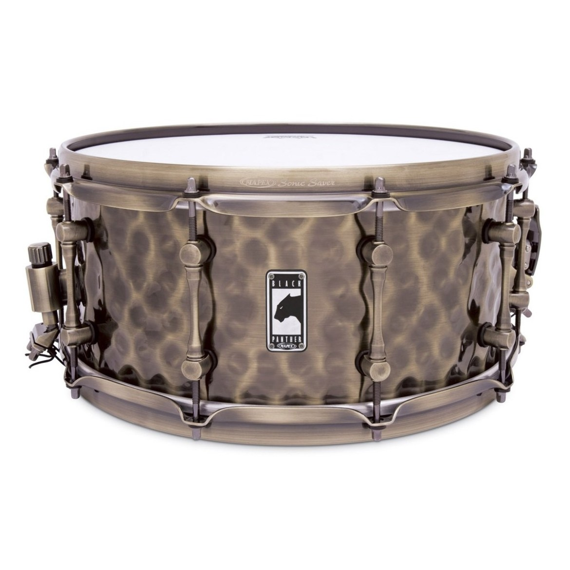 Mapex Black Panther The Sledge Hammer 14x6.5 Hammered Brass Snare