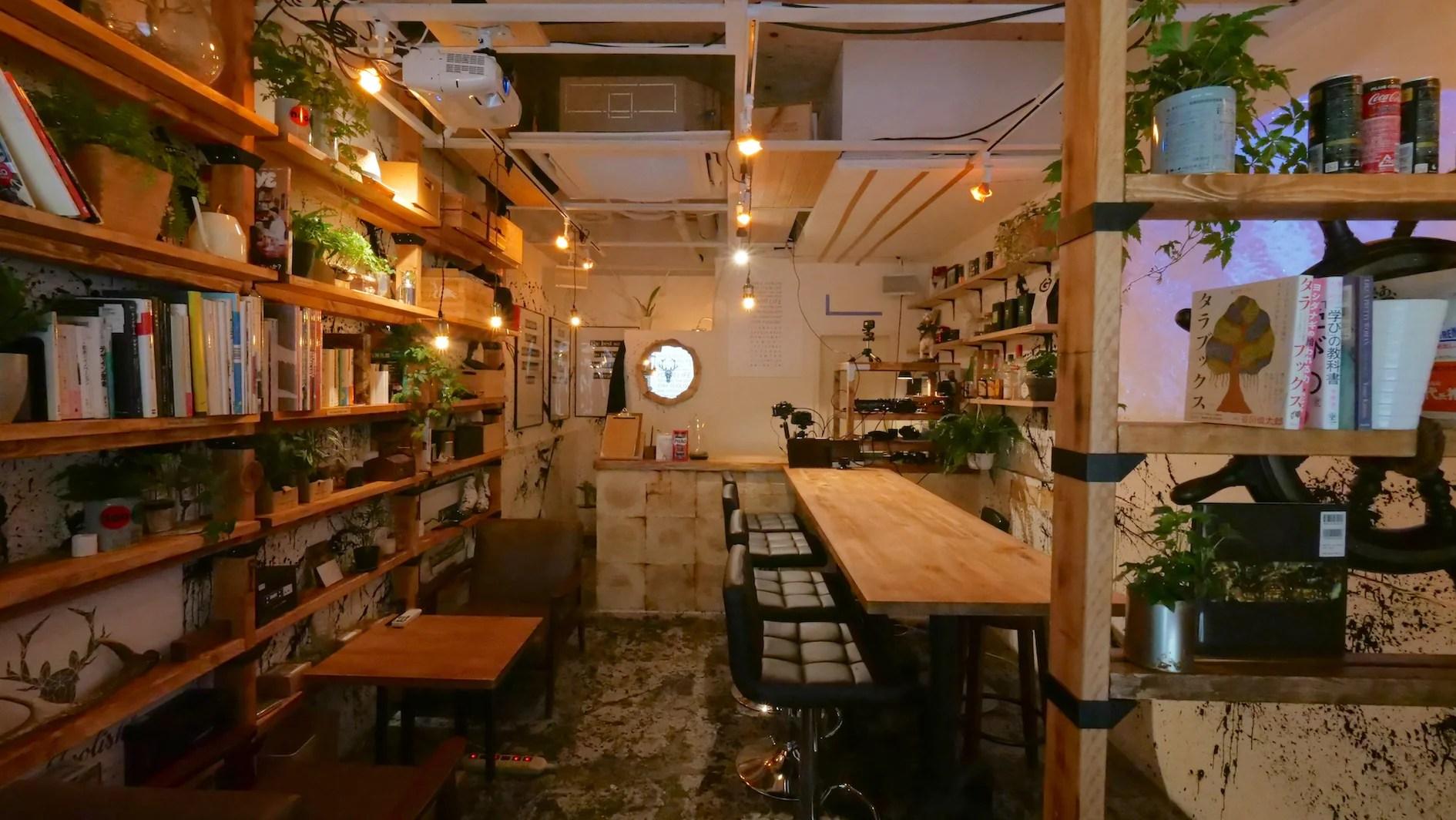 渋谷の秘密基地【SHIBUYA+BAr】 映像配信バー | スペースマーケット