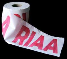 Toilet roll with sense of humor