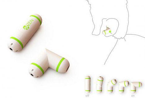 Pillete concept Bluetooth headset