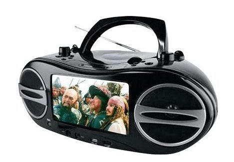 Go Video brings LCD to boombox