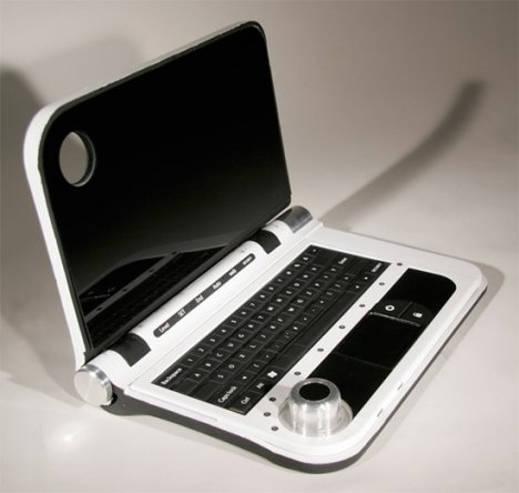 IBM Laptop Concept For Spies