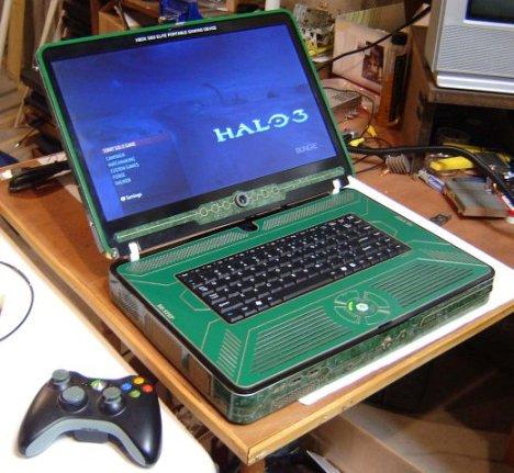 Xbox 360 Elite Laptop