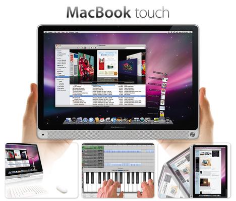 Whishful rumor: Macbook Touch