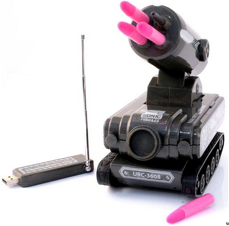 USB Tank Missile Launcher