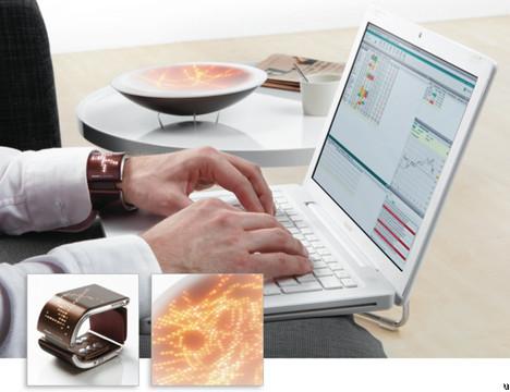 Philips EmoBowl and EmoBracelet concept