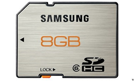 Samsung CF and SD rugged memory cards