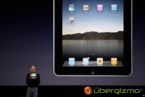 Apple iPad announced