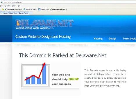 Fingerworks Website Taken Offline