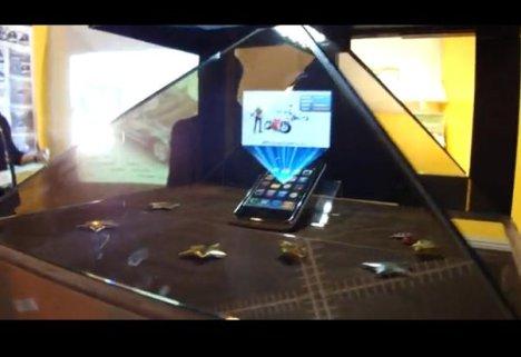 HoloAD 3D Hologram From Innovision