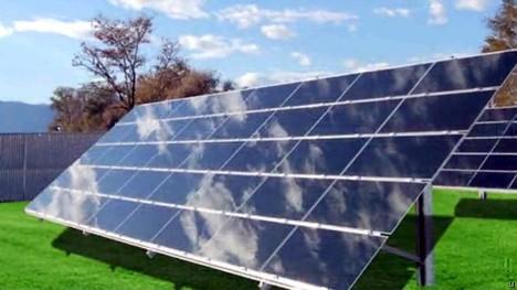 General Electric has thin-film solar panels