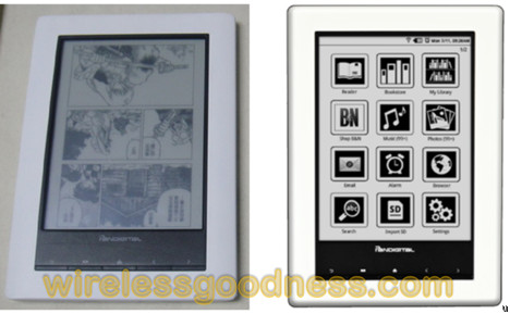 Pandigital AW-NU706 ebook reader arrives on the FCC