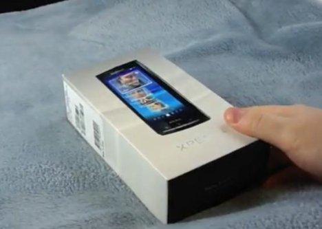 Sony Ericsson's Xperia X10 Unboxed