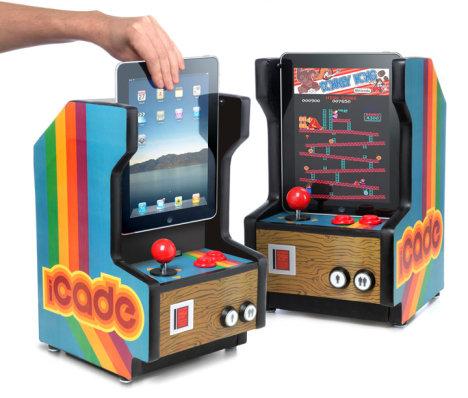 iCade iPad Arcade Cabinet Concept