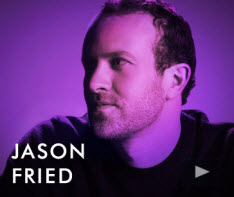 Join us for a webcast with Jason Fried /37Signals on Thursday