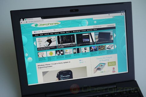 Chrome browser on Cr-48