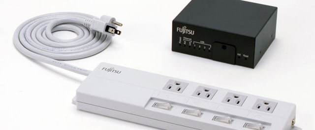 Fujitsu smart powerstrip and gateway