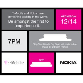 Nokia T-Mobile event