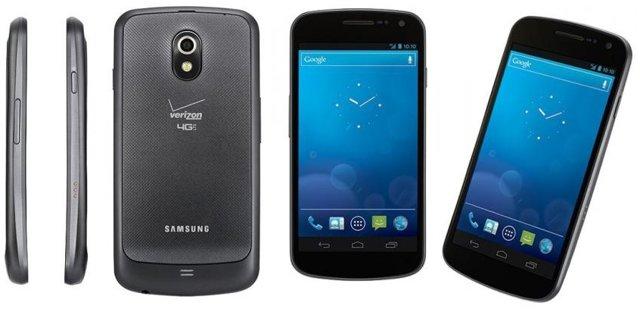 Verizon Galaxy Nexus Press shots