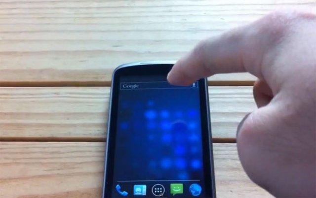 Nexus One CM9 ICS