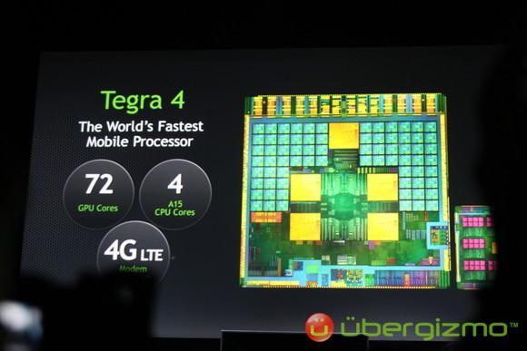 Tegra 4 Announced By NVIDIA | Ubergizmo